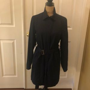 Eddie Bauer 3/4 Length Trench Coat.